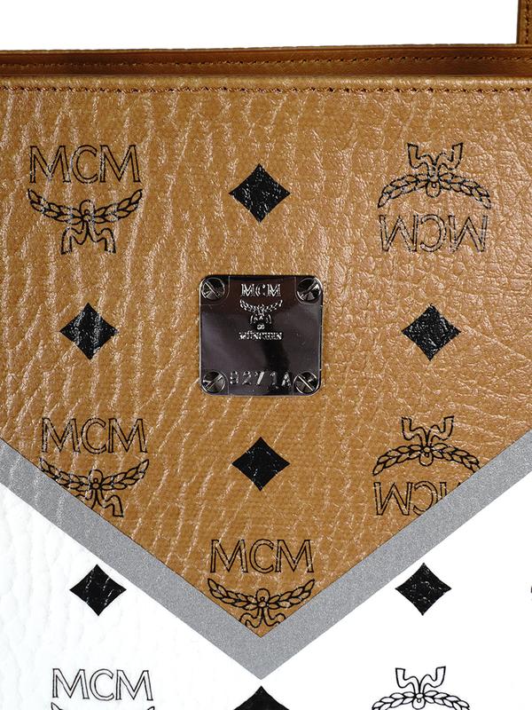 MCM M MOVE VIS SHOPPER MED CD bag - red