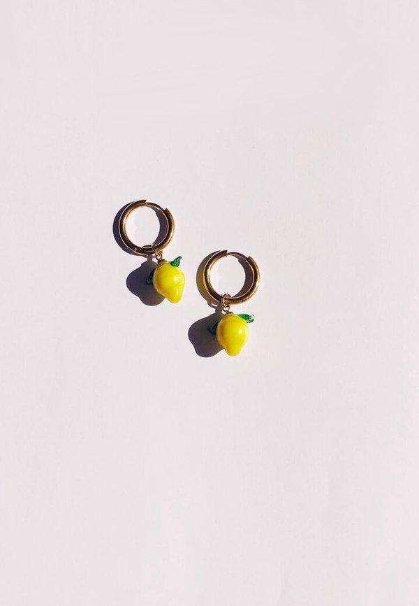 Lemons Hoops - gold