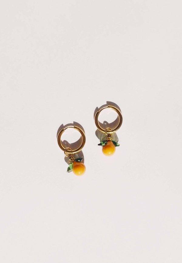 Tangerines Hoops - gold