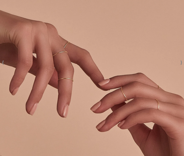 By Charlotte 14kt Sweet Purity Ring