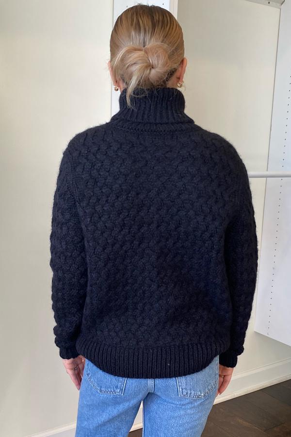 Christina Lehr Keirnan Turtle Sweater - Black