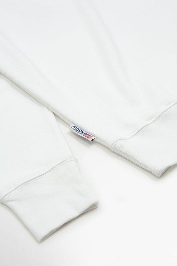 Autry circle flag Sweatshirt - white