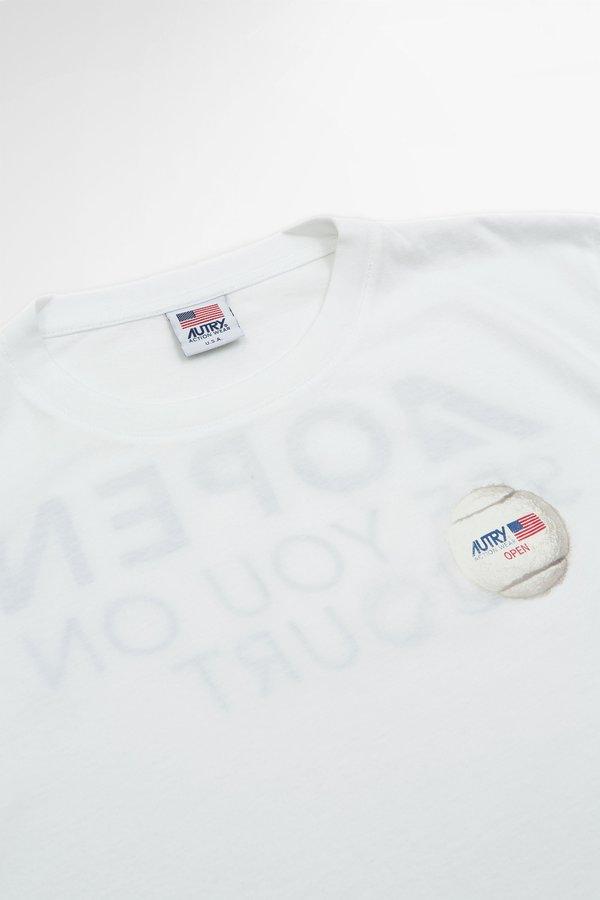 Autry ball T-shirt - white