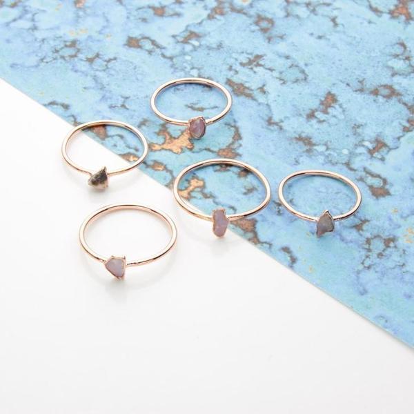 Stone Stacking Rings