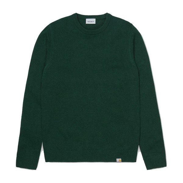 Carhartt WIP Allen Sweater - Bottle Green