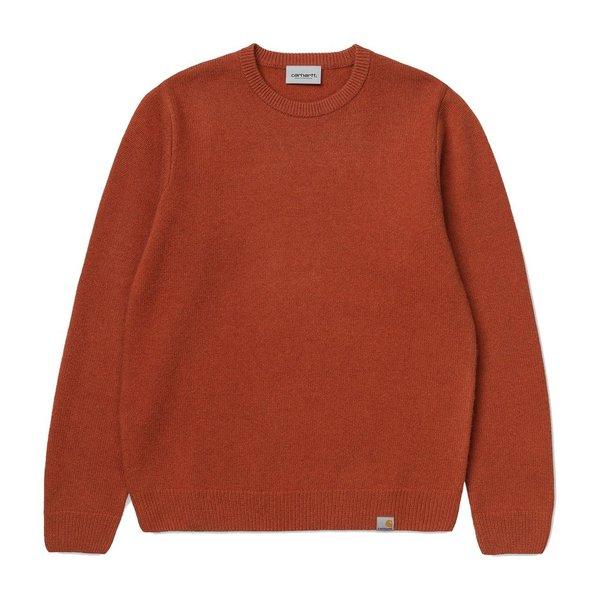 Carhartt WIP Allen Sweater - Cinnamon