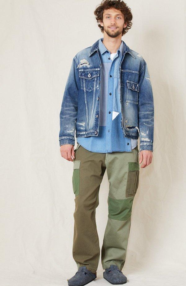 FDMTL 10 Year Wash Denim Jacket - Indigo