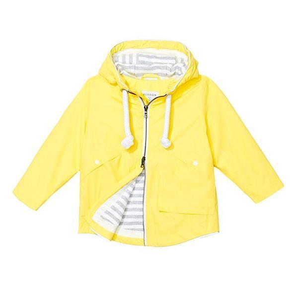 Minnow by Trout Rainwear Child Rain Jacket Yellow