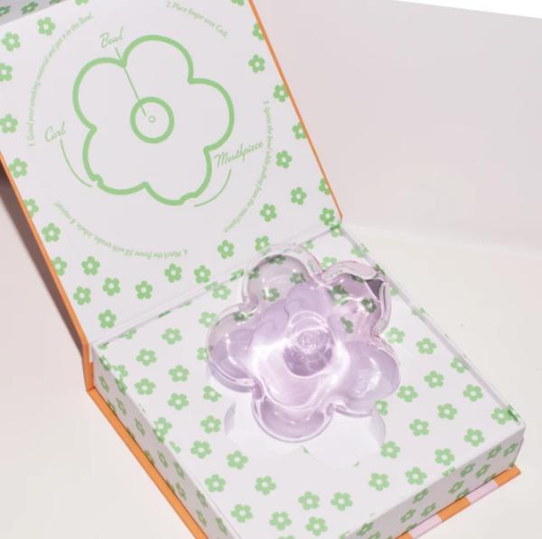 Edie Parker Flower decor - Purple