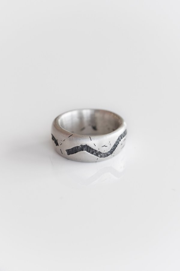Fraser Hamilton Canal Ring - Silver