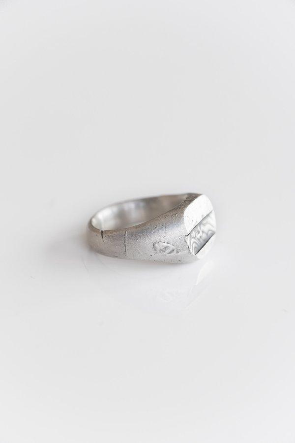 Fraser Hamilton Intrepid Ring - Silver