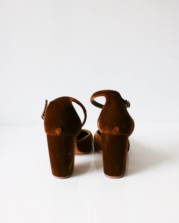 Rachel Comey Velvet Bali Pumps, Size 8