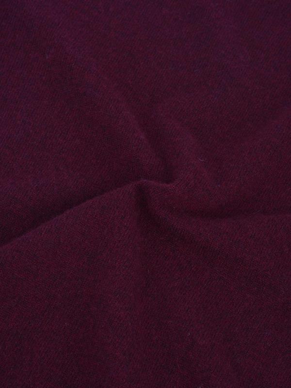 Pure Cashmere NYC Classic Crew Neck Sweater - Burgundy