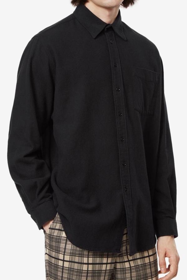 Schnayderman' s Non-Binary Twill Flanell Shirt