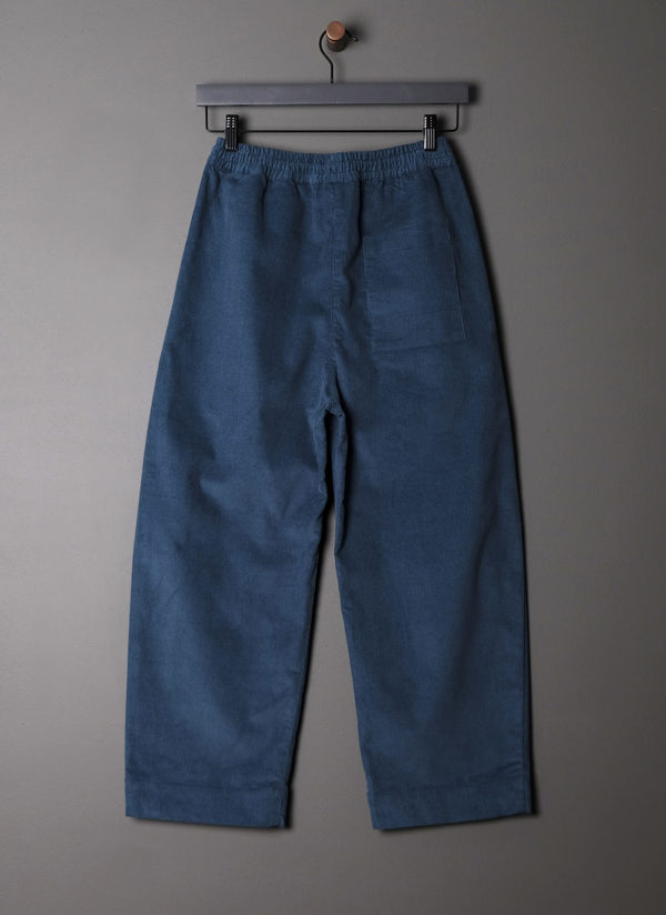 UNISEX GREI. OVATE BAGGY PANT - TEAL