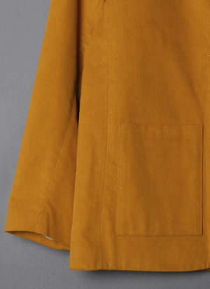 GREI. ONE BUTTON SUIT JACKET - TURMERIC