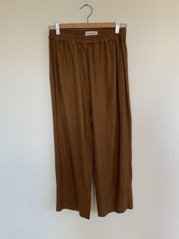 Pre-loved LOOP Ochre Pants - Brown