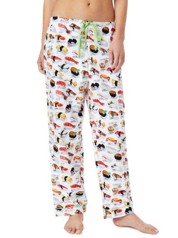 Sushi Flannel PJ Pants