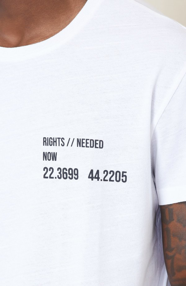 Lot78 Rights Recycled Tee