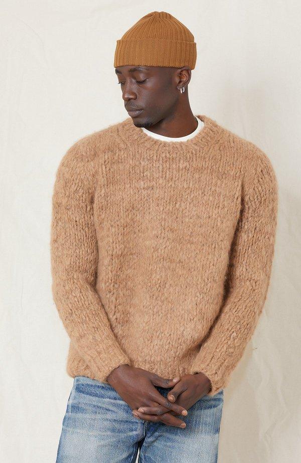 Hand Knitted Alpaca Sweater