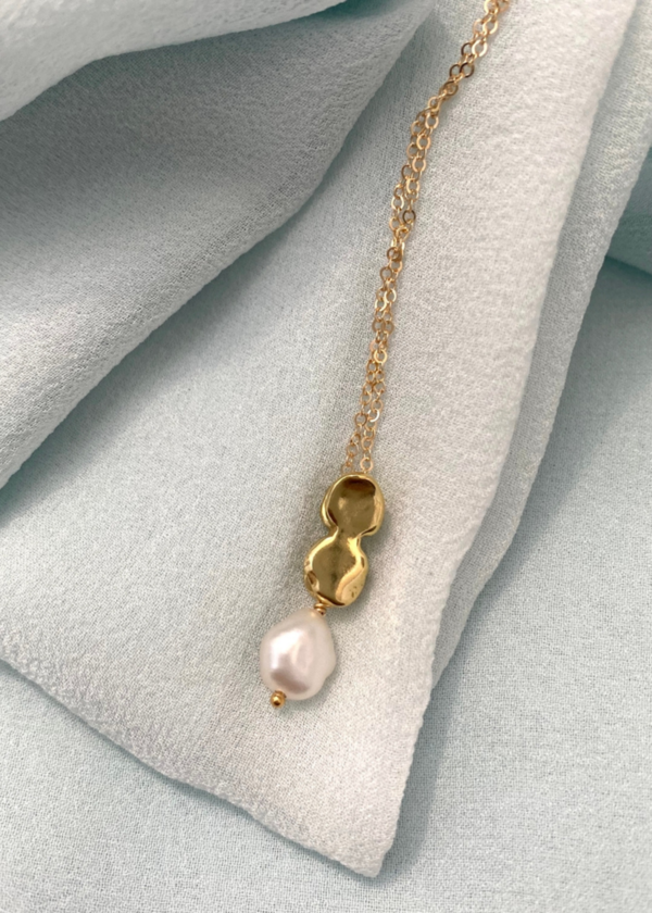 Goldeluxe Jewelry Allegory slide necklace - 14k gold filled