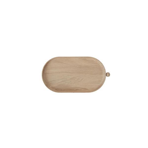 OYOY Inka Wood Tray - brown