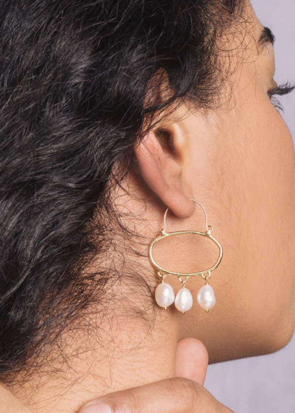 Goldeluxe Jewelry Penelope hoop earrings - 14K gold filled