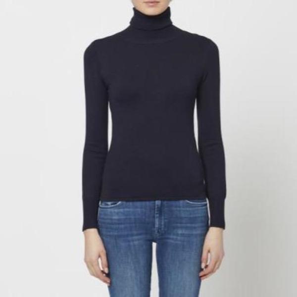 John + Jenn Cummings Turtleneck Sweater - Midnight