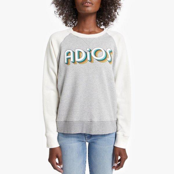 Mother Denim The Square Sweatshirt - Adios