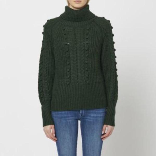 John + Jenn Thomas Knit Sweater - Evergreen