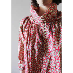 Caron Callahan Michelle Dress - red Floral