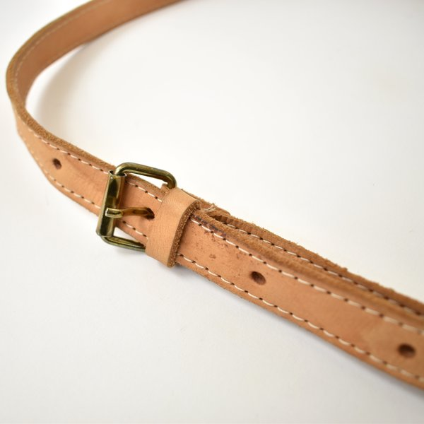 Vintage Tooled Leather Hip Pack