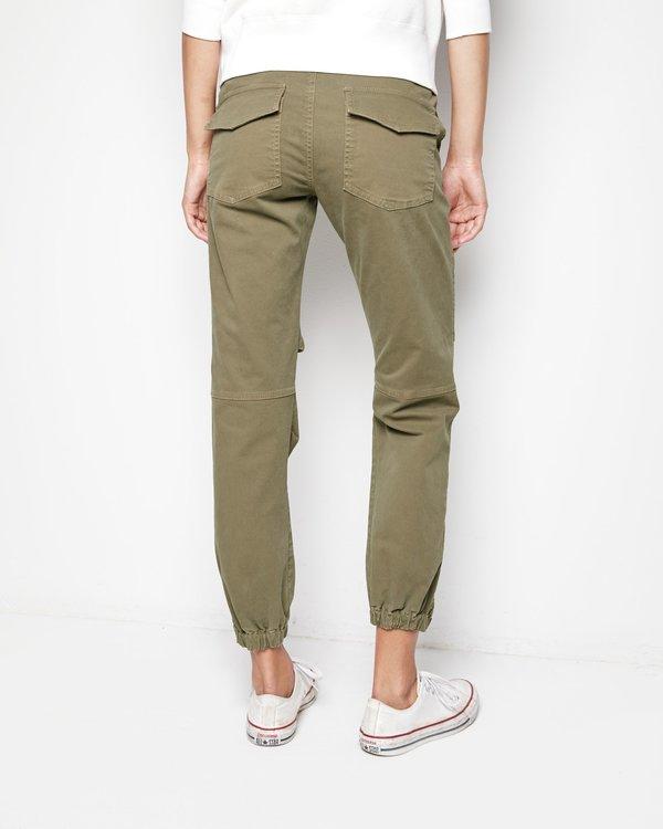 Nili Lotan French Military Pants - Olive Green