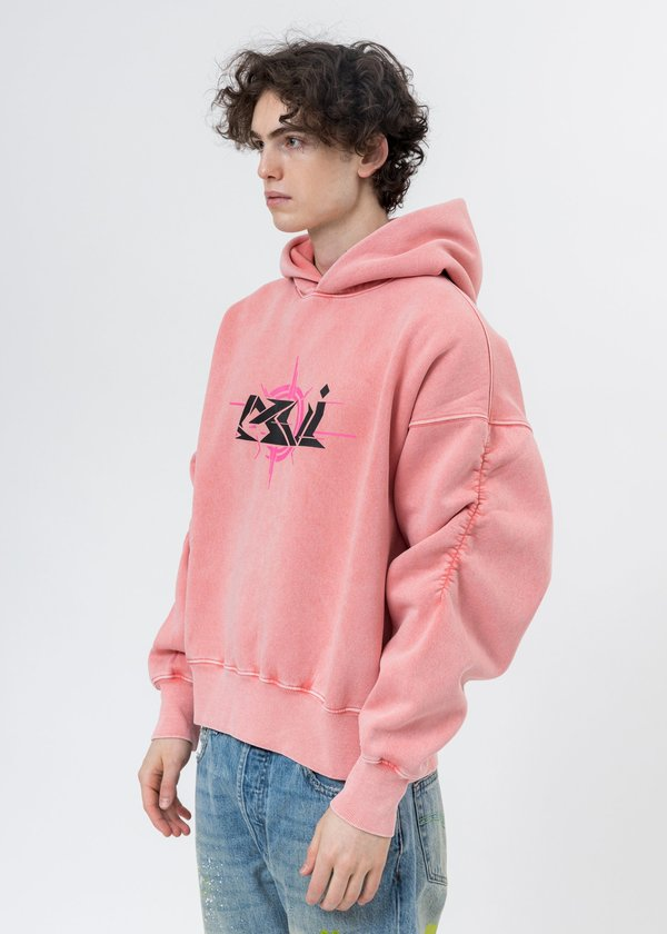 LXVI Butterfly Rib Cage Hoodie - Pink