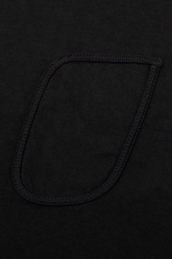 Lady White Co. Clark pocket t-shirt - black
