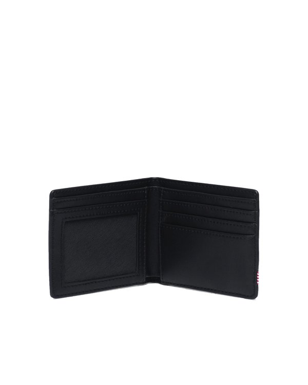 HERSCHEL SUPPLY CO Hank Wallet - Black Leather LR