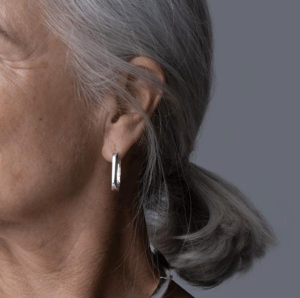 Jenny Bird u-link earring - silver