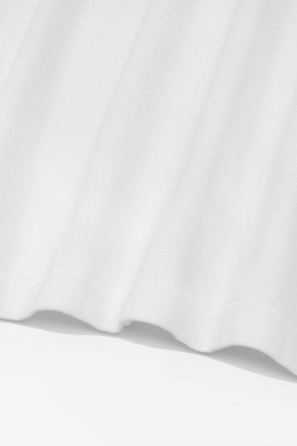 Lady White Co. Jersey turtleneck - white