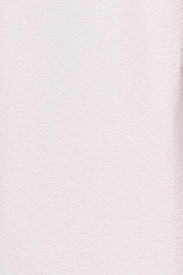 The Sleep Shirt Plus Size Sleeveless Nightie - Pink Seersucker