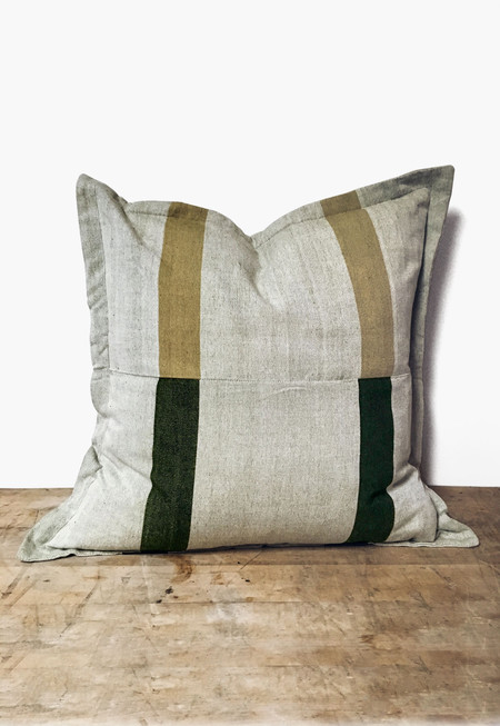 New Market Goods Khala Pillow Cover - Stripes