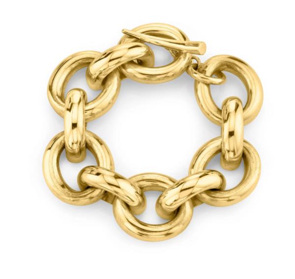 Gabriela Artigas Full Link Bracelet - 14K Yellow Gold Plated