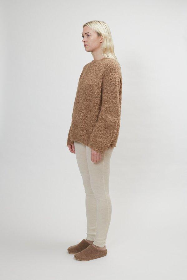 Lauren Manoogian Astrakhan Pullover - Cedar