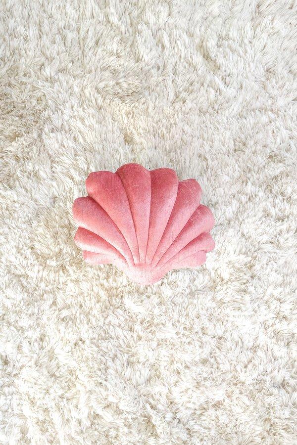 Tamar Mogendorff Velvet Shell Pillow - rose
