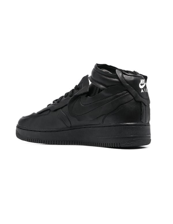 Comme des Garcons Cut Off Air Force 1 Sneakers - Black