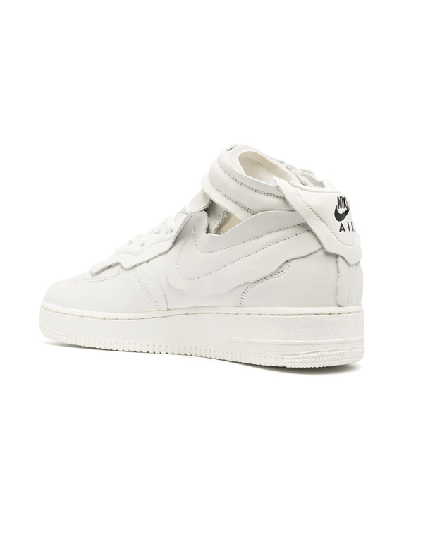 Comme des Garçons Cut Off Air Force 1 Sneakers - White