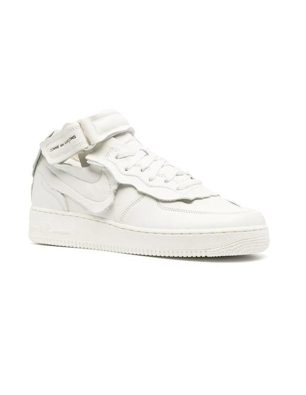 Comme des Garçons Homme plus Air Force 1 Sneakers - White