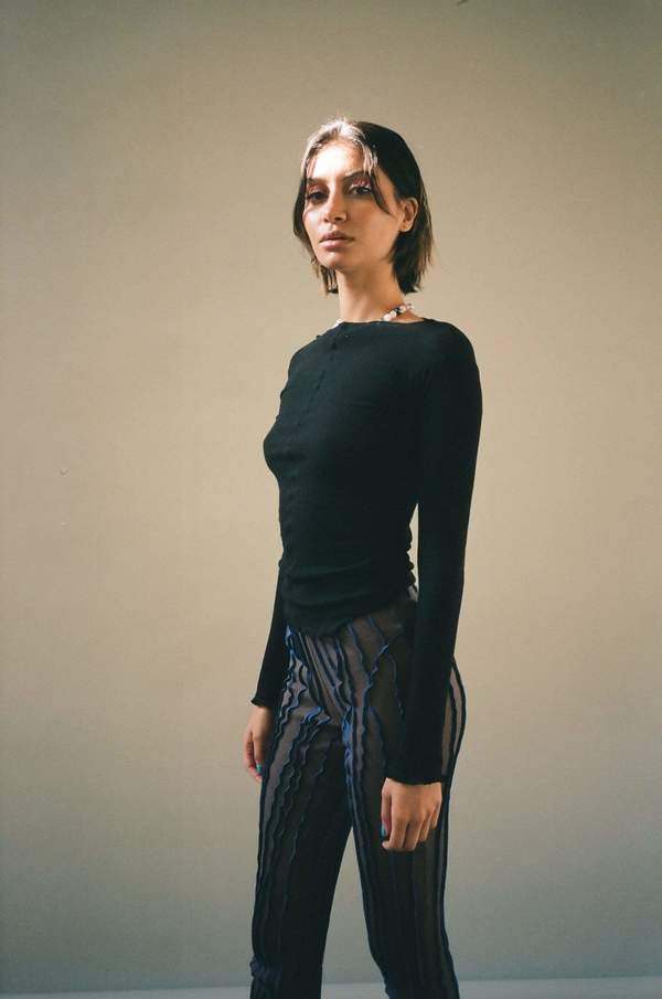 Baserange Pama Longsleeve - Black