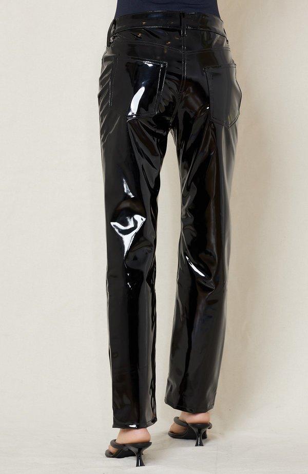 Simon Miller Straight Leg Pant - black