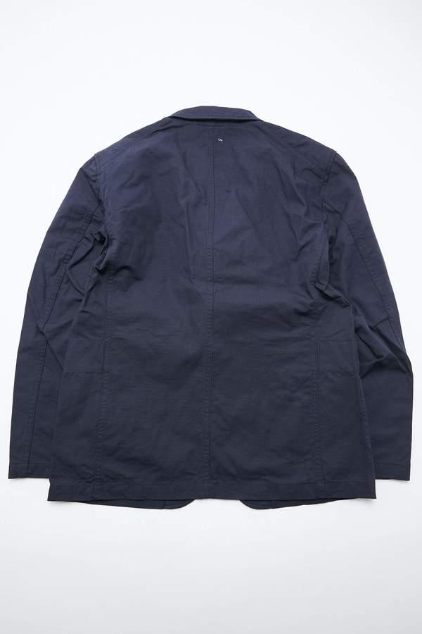 Engineered Garments Bedford Jacket - Dk. Navy Cotton Ripstop