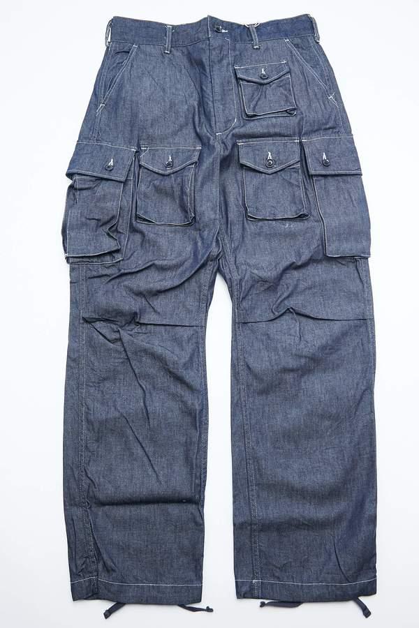 Engineered Garments FA Pant - Indigo 8oz Cone Denim